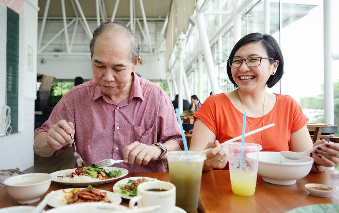 Chinese ouderen en voeding